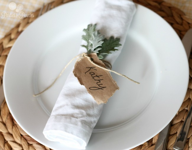 Easter Placecard Ideas