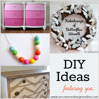 DIY Ideas… Monday Funday Features