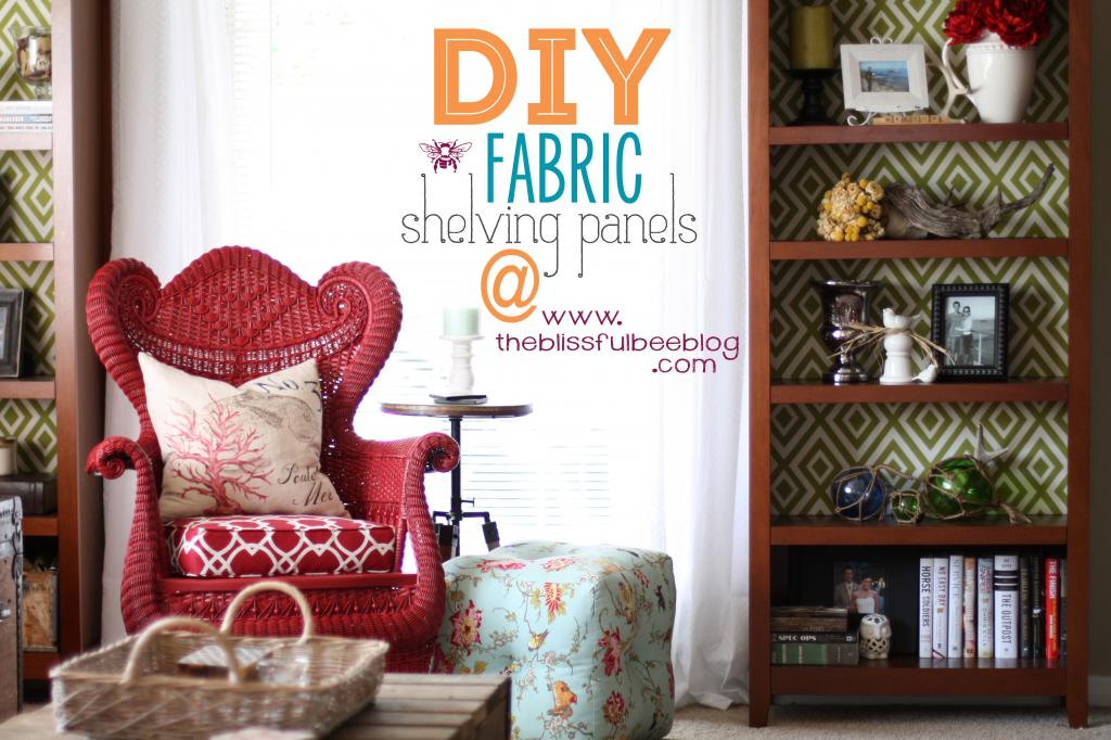 fabric backed shelving