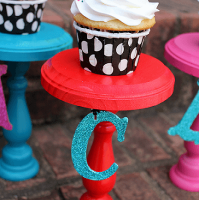 Personalized Cupcake Stands