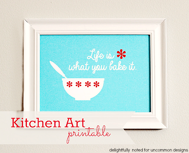 kitchen art printable