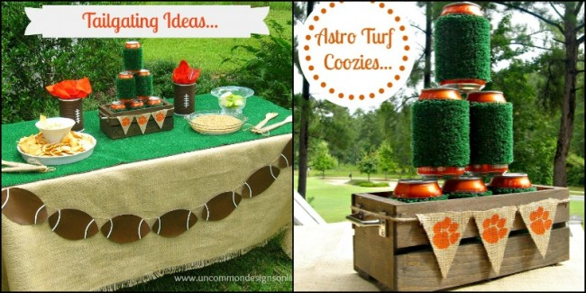 tailgating ideas collage