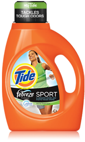 tide febreeze sport