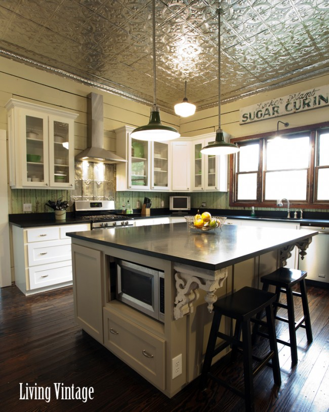 kitchen cabinets with island a vintage kitchen 6473