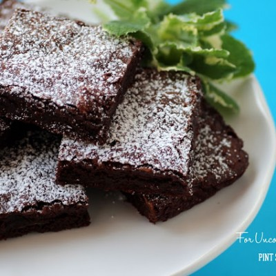 One Pot Mint Brownies