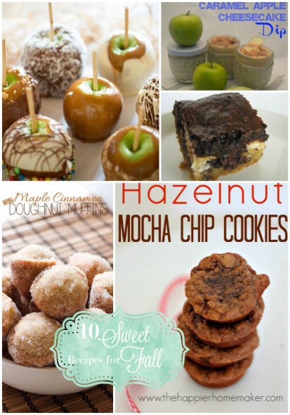 Monday Funday Features ~ 10 Recipes for Fall
