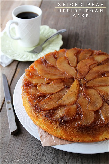 Fall_Desserts_Spiced-Pear-Upside-Down-Cake-Lovegrowswild