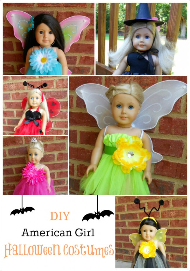DIY American Girl Halloween Costumes