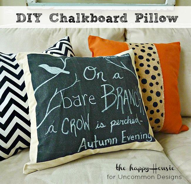 DIY_Chalkboard_Pillow_Uncommon_Designs