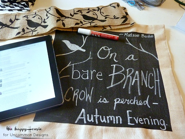 DIY_chalkboard_art_drop_cloth_pillow