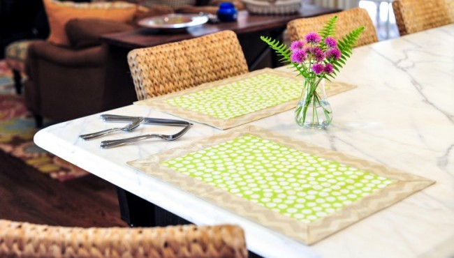 punchy placemats