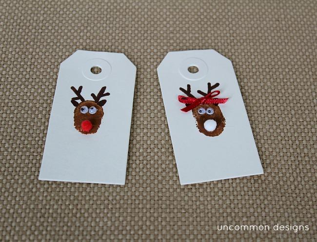 DIY_thumbprint_art_reindeer_tags
