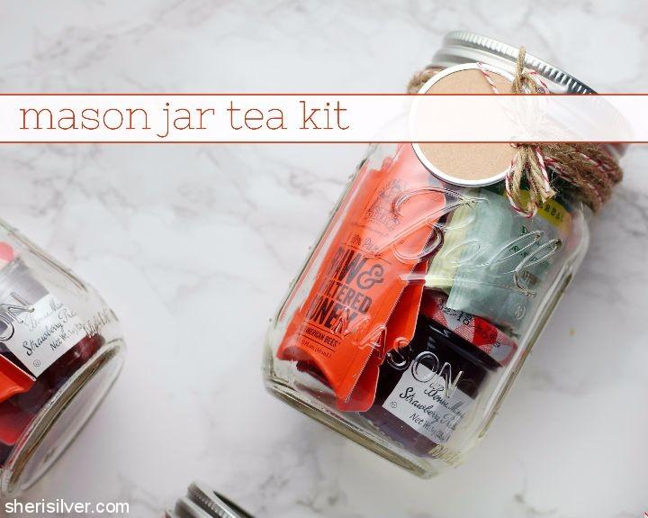 Mason Jar Tea Kit by Sheri Silver