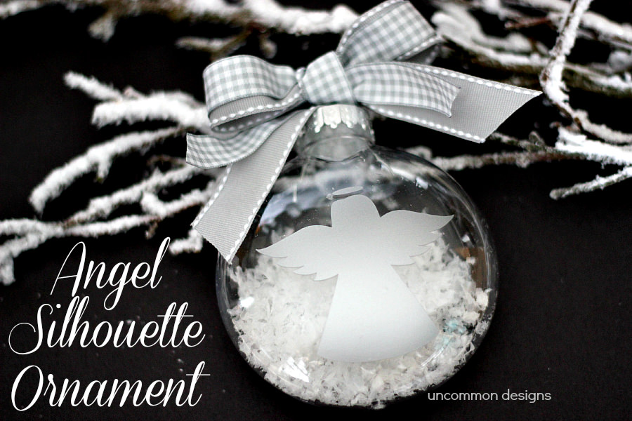 Angel Silhouette Ornament