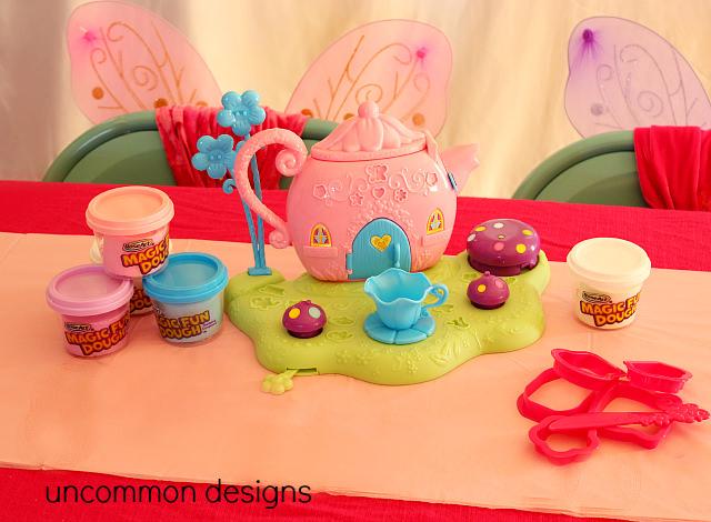 Rose Art Magic Fun Dough Fairy Tea Party