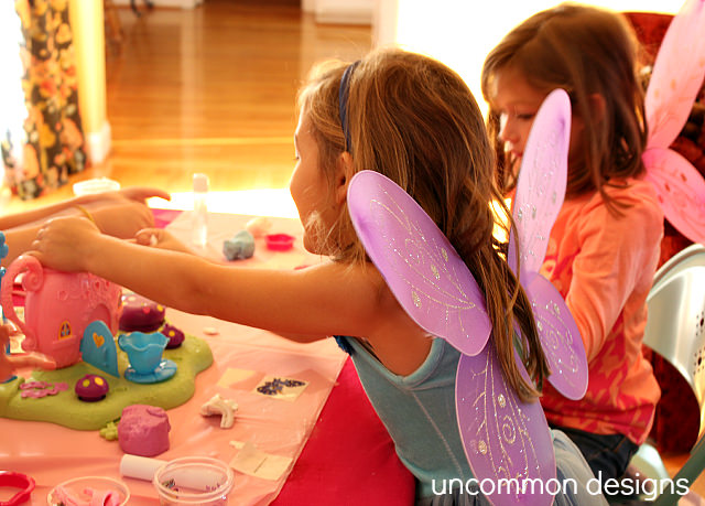 Fairy Tea Party Rose Art