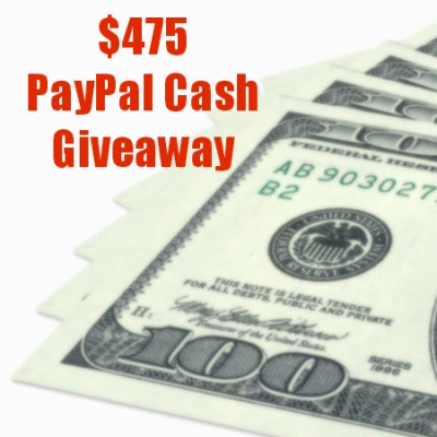 Happy New Year $475 PayPal Cash Giveaway!