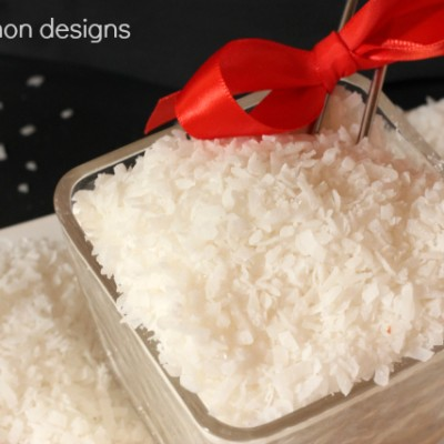 Edible Snow Recipe… Perfect for Holiday Baking!
