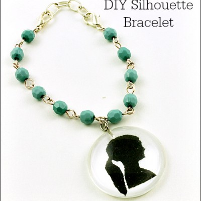 DIY Silhouette Bracelet