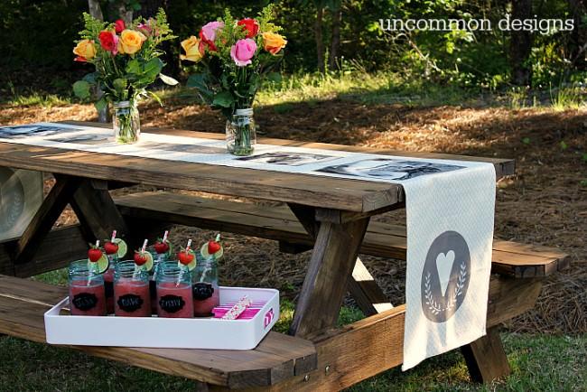 Backyard Couples Wedding Shower on outdoor shower ideas backyard, bbq ideas backyard, party ideas backyard, diy backyard, sports ideas backyard,