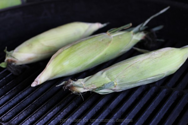The best grilled corn recipe ever!  www.uncommondesignsonline.com #grillingrecipes  #corn #grilled