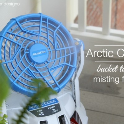 Our Covered Porch and an Arctic Cove Review
