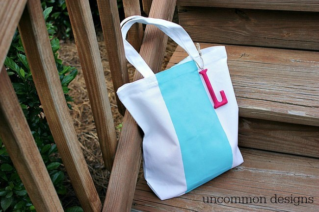 Make a Color Block Tote for Spring with Uncommon Designs