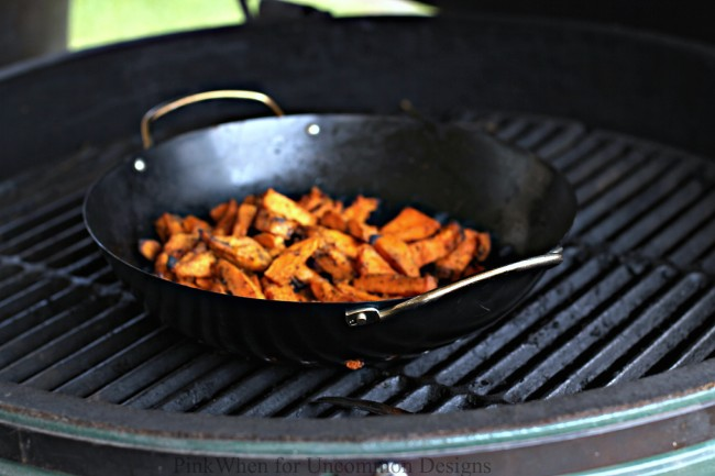 Make these delicious sweet potato fries with only two ingredients!  via Uncommon Designs