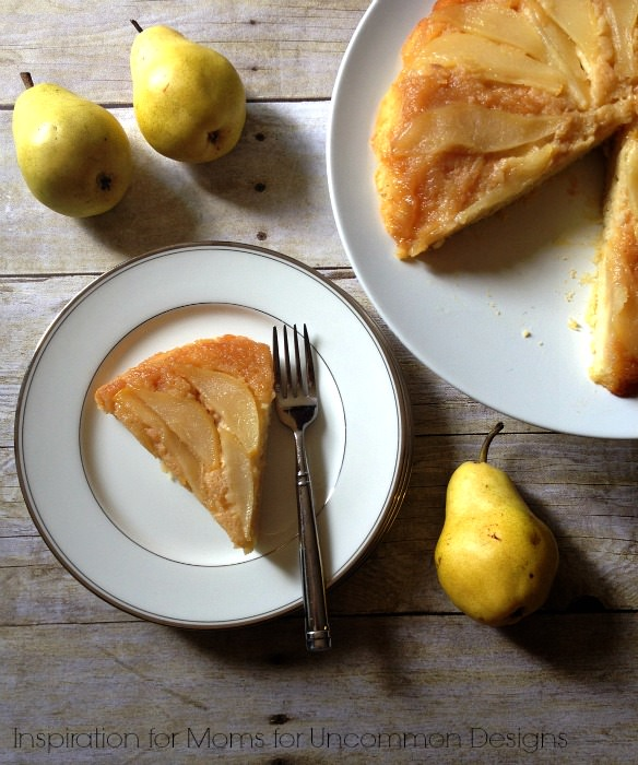 "Pear Cake ""Tatin""... the perfect fall recipe! Uncommon Designs"