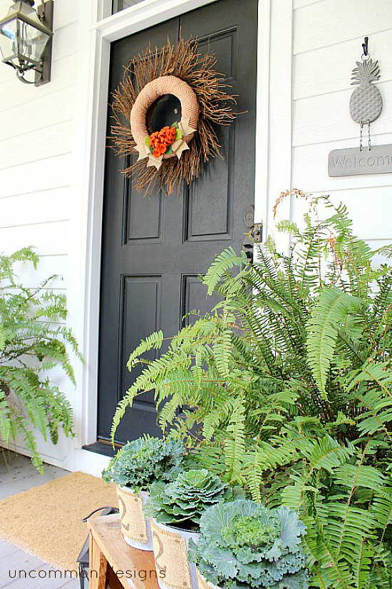 Southern Fall Front porch! #findingfallhometour