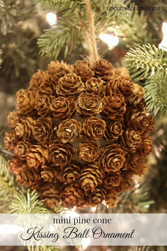 mini-pine-cone-kissing-ball-ornament-uncommon-designs