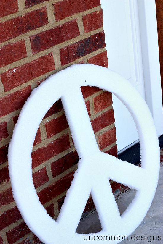 Make a Peace Sign Wall Art P
