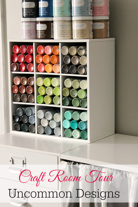craft paint storage ideas - uncommon designs Money Storage Ideas