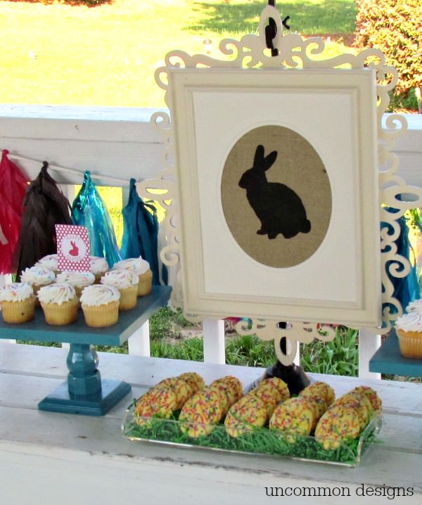 Host the easiest ever Easter Egg Hunt Party with Uncommon Designs