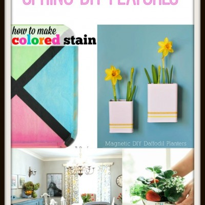 Spring DIY Projects |Monday Funday