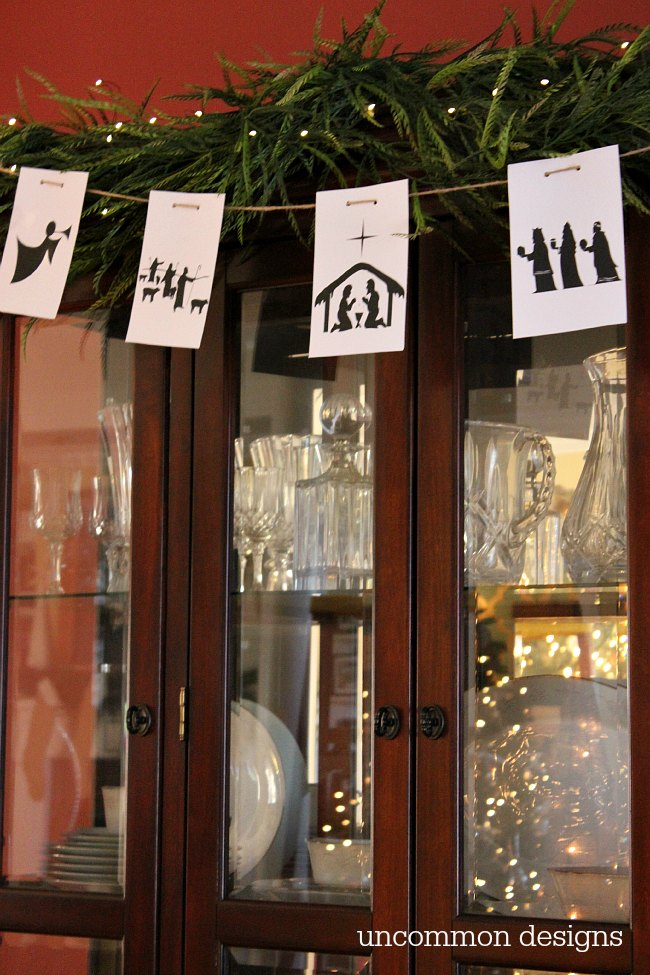 Free Printable Nativity Banner   Uncommon Designs