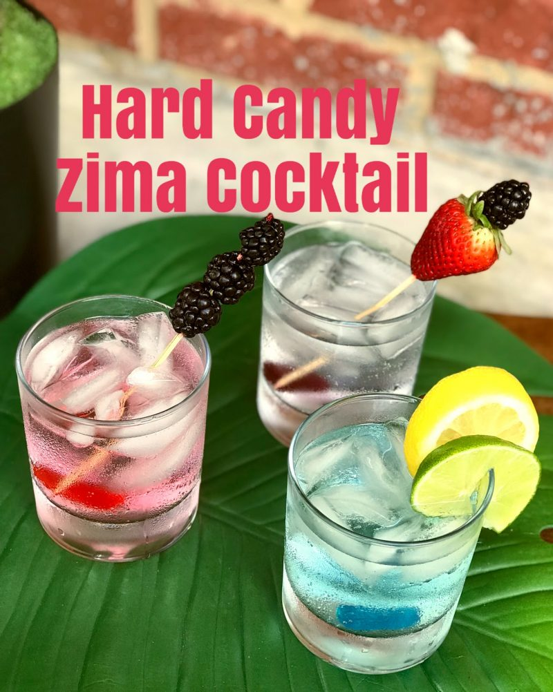 Hard Candy Zima® Cocktail.  Your 90's favorite drink is back for a limited time! #ad #ZIMA #Z2K #CollectiveBias