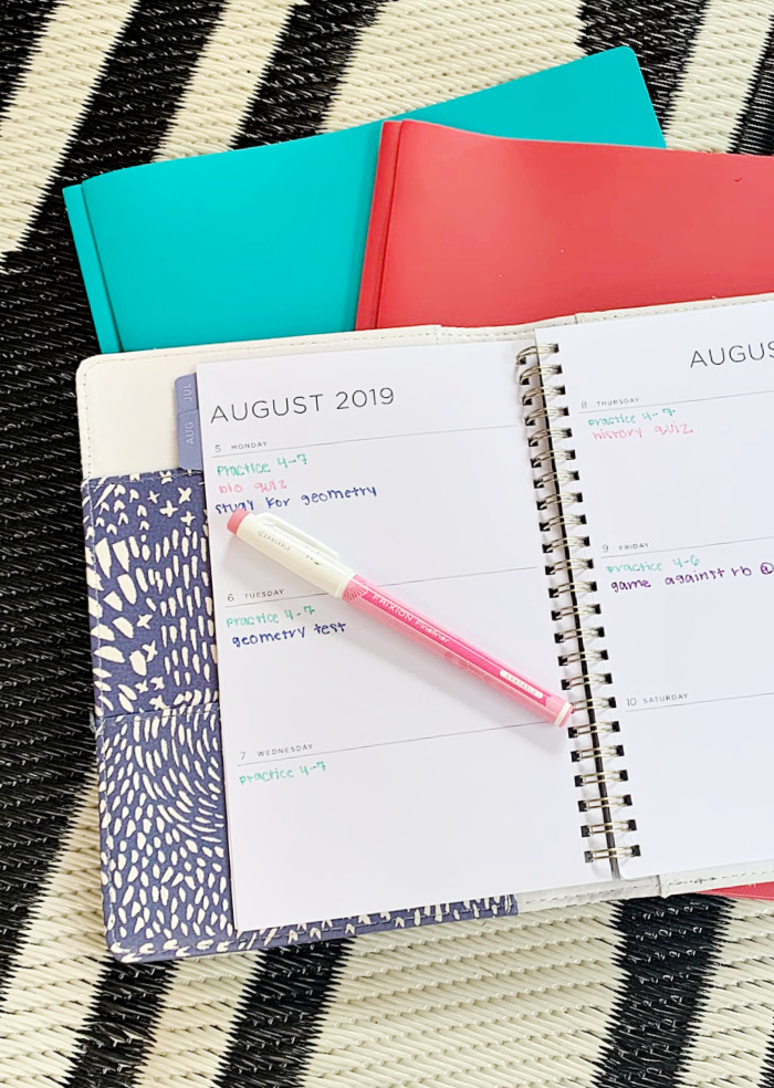Colorful Pens for Keeping an Organized Agenda (1)