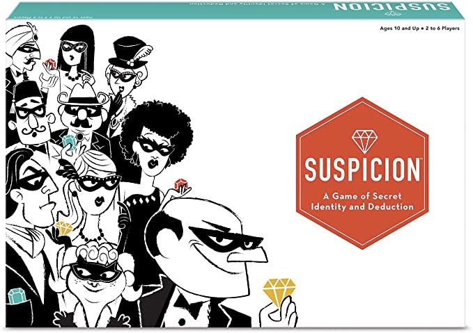 Suspicion Family Board Game